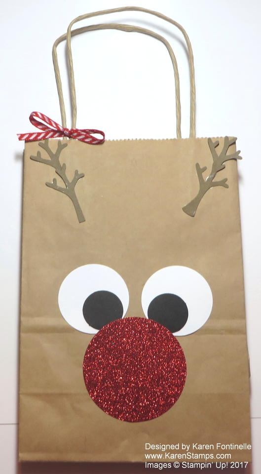 Rudolph the Red-Nosed Reindeer Gift Bag