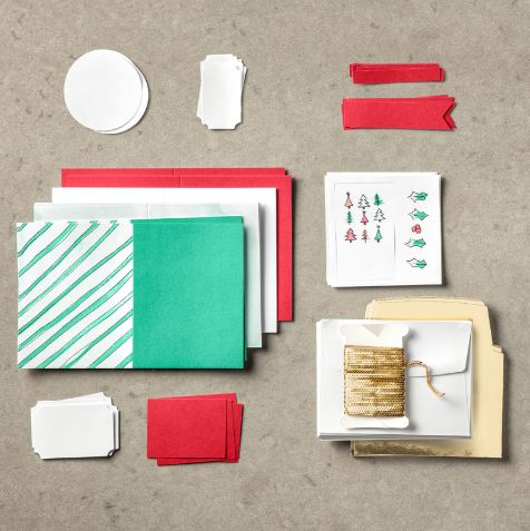 Watercolor Christmas Project Kit
