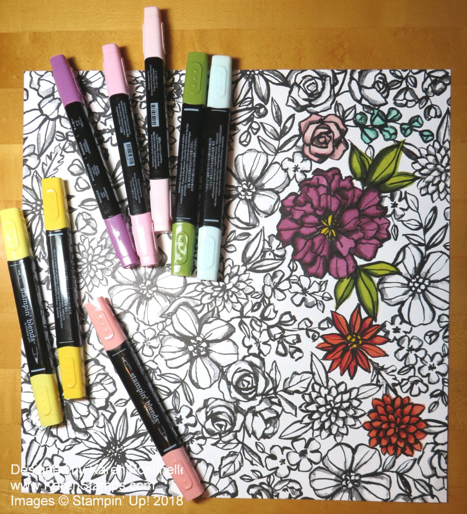Coloring Therapy With Petal Passion