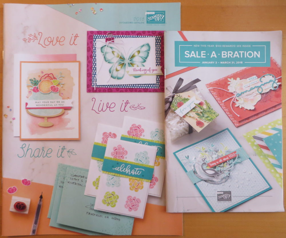 Occasions and SAB Catalog 2018