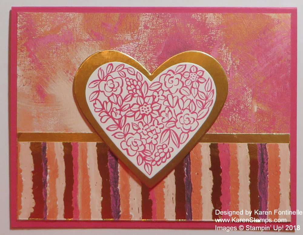 Painted With Love All-Occasion Card