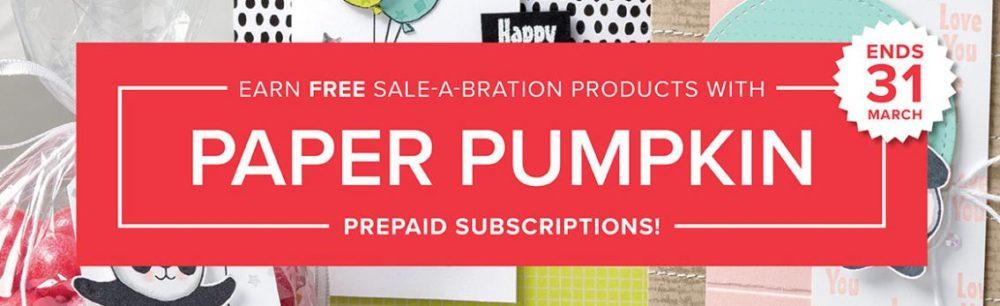 Paper Pumpkin Sale-A-Bration Deals 2018