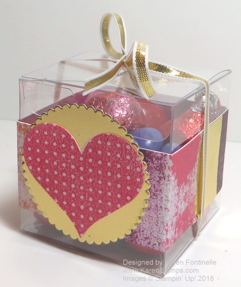 Quick and Easy Tiny Treat Box For Valentine's Day