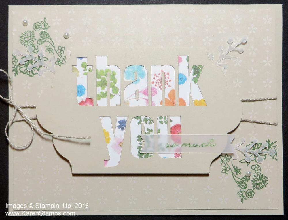 karen fontinelle stamping with karen