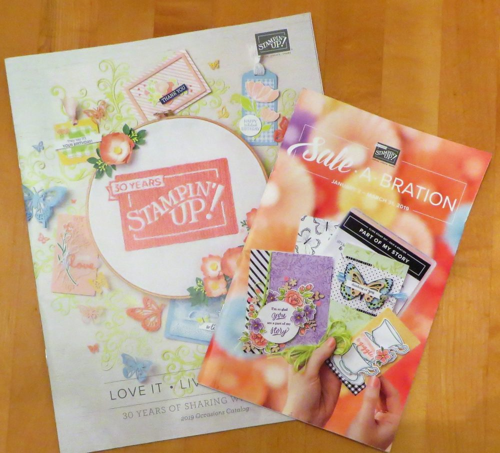 New Occasions 2019 and Sale-A-Bration 2019 Catalogs Go Live