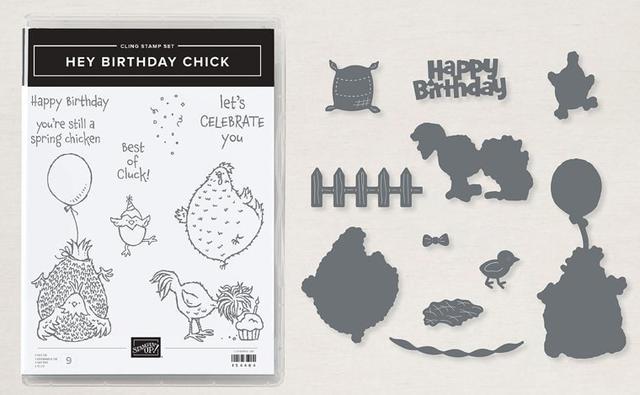 Hey Birthday Chick Bundle