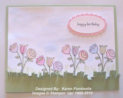 Happy Moments Spring Sale-A-Bration Card