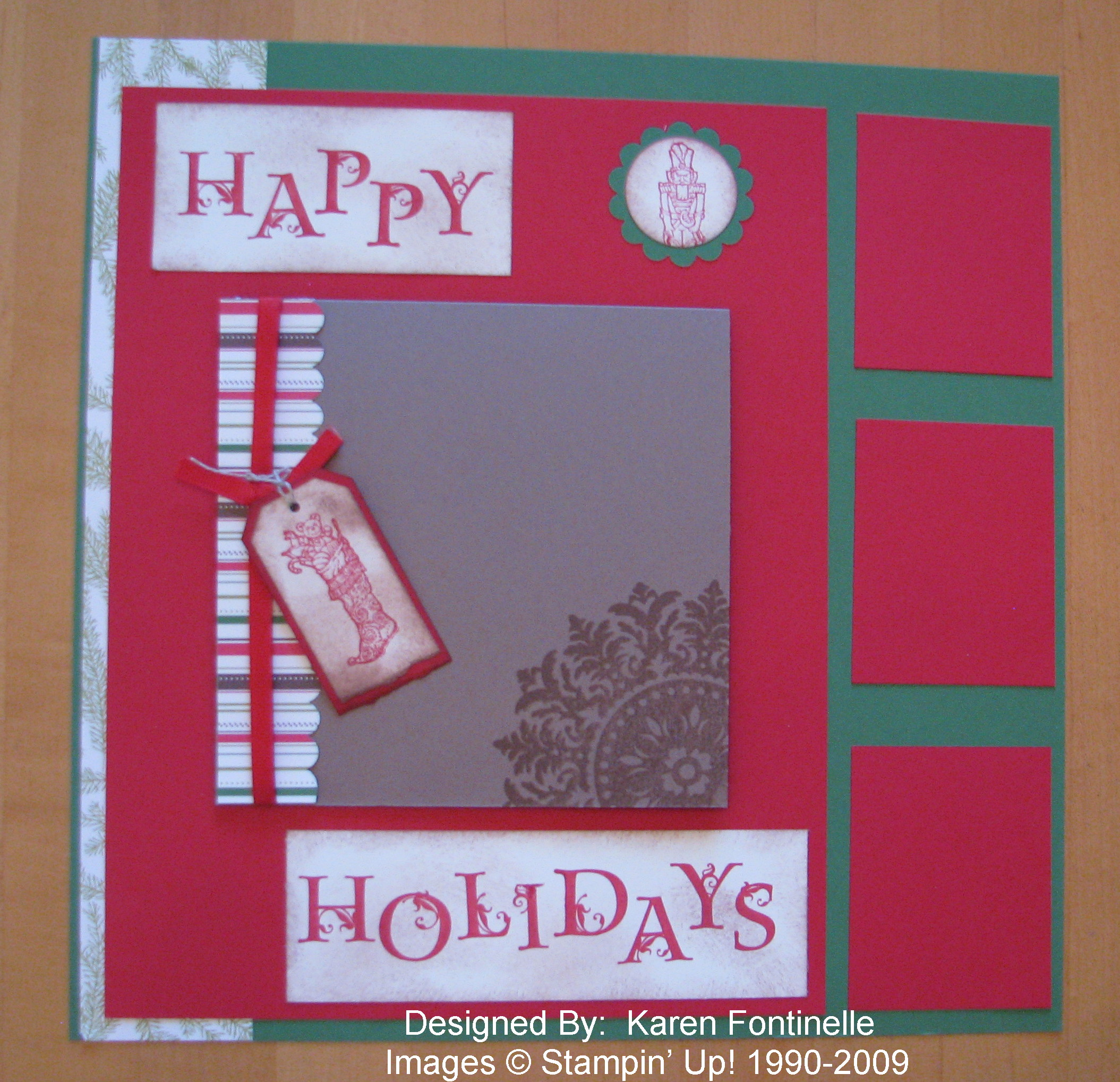 How to add scrapbook pages - It S Not Too Early To Start Designing Some Scrapbook Pages For Your Christmas Album Now And Then After The Holidays All You Have To Do Is Add The Photos