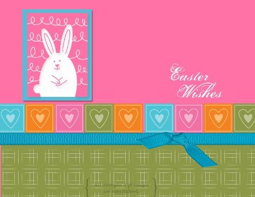 Make this easy Easter card with My Digital Studio!