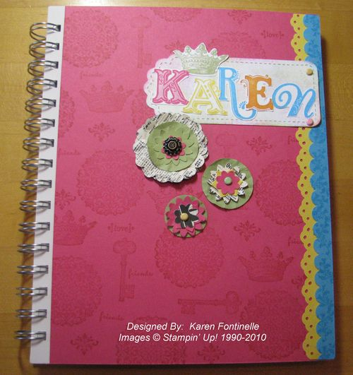 Stampin' Up! Convention Notebook