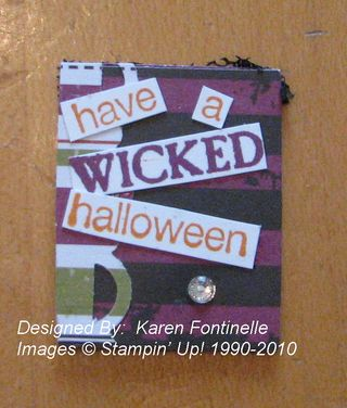 Simply Adorned Halloween Insert