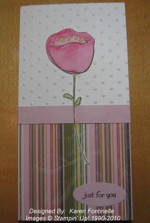 Awash with Flowers Spring Card
