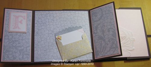 Flip Album using Scallop Envelope Big Shot Die