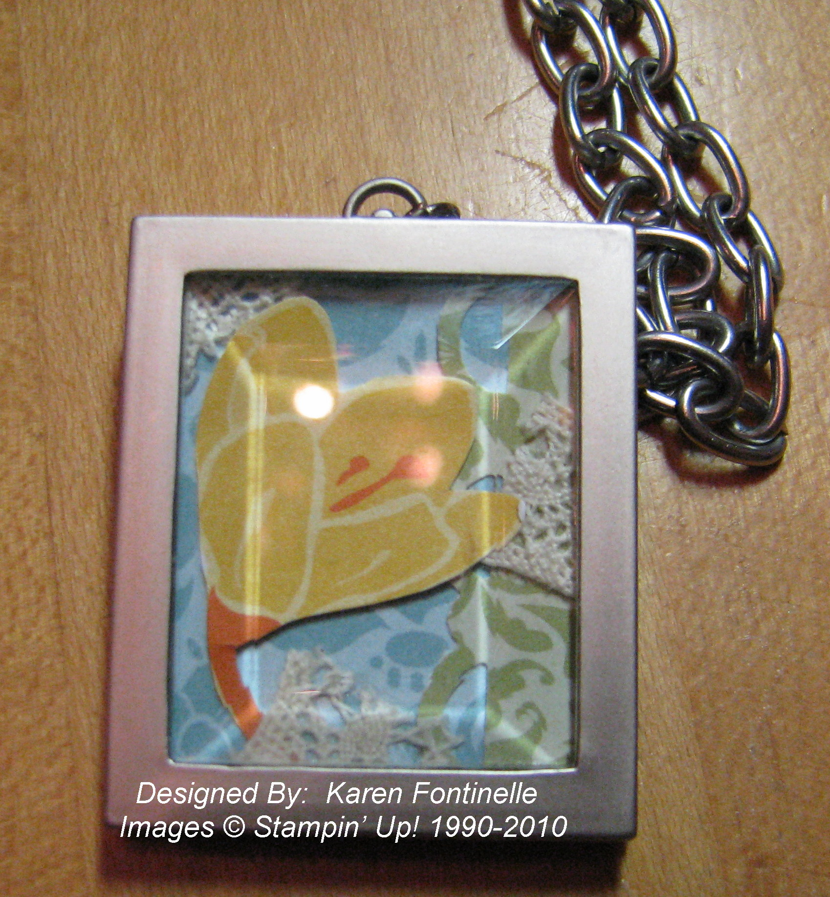 simply adorned charms stamping with karen