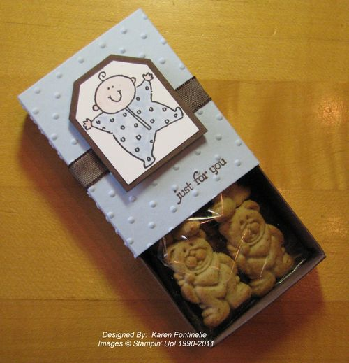 Baby Shower Favor Teddy Grahams