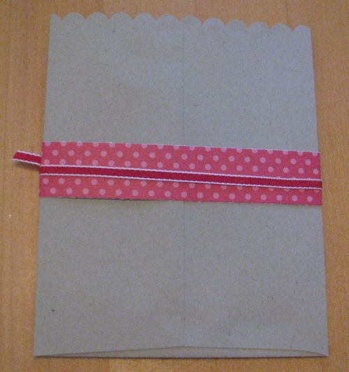 Valentine Envelope Pouch back