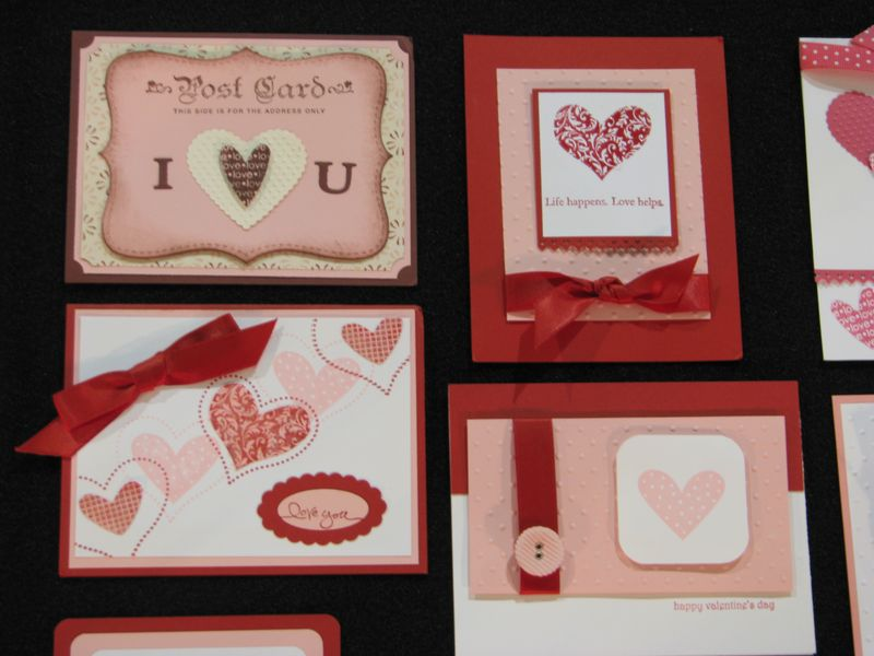 stampin up valentines