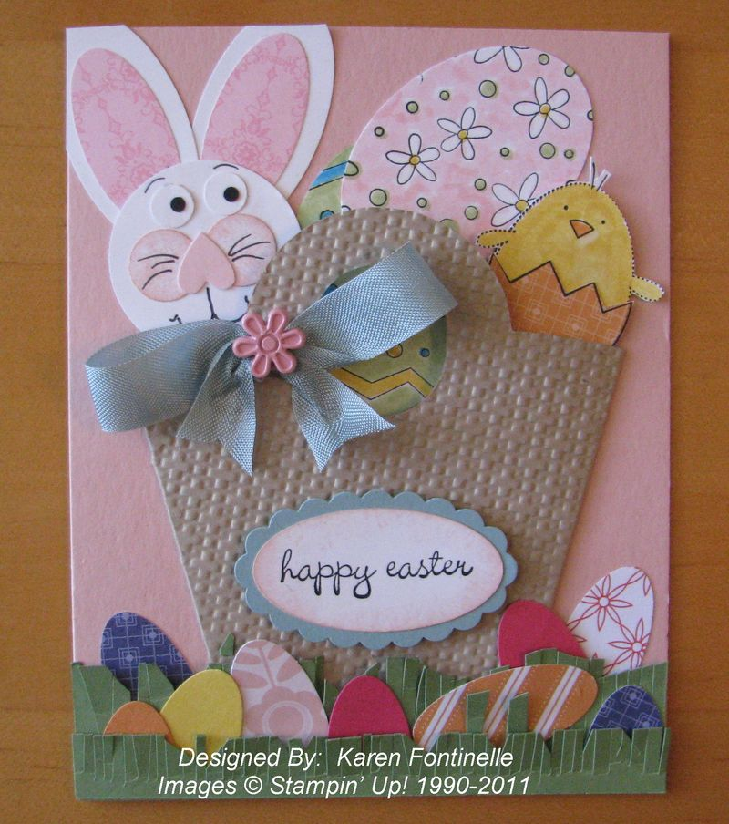 Easter Fun Handmade Card – Homemade Easter Cards