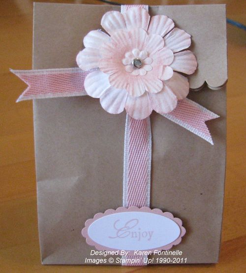 Paper Daisy Paper Gift Bag
