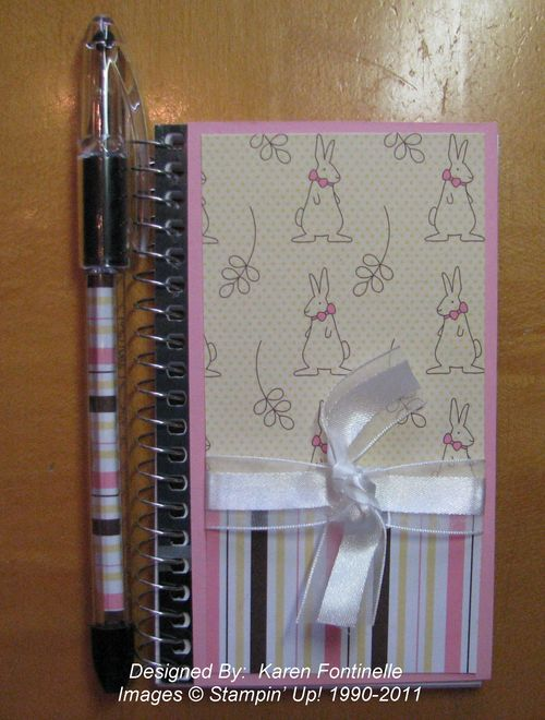 Baby Notebook and Pen