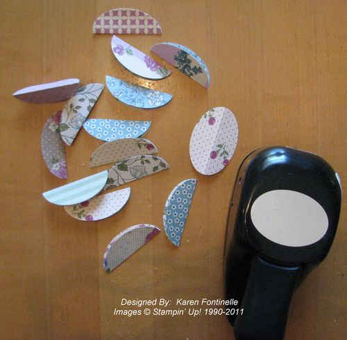 Paper Easter Egg pieces