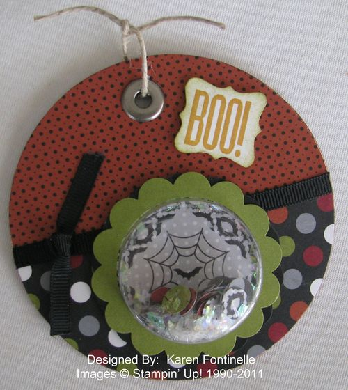 Halloween Coaster Treat Cup Ornament