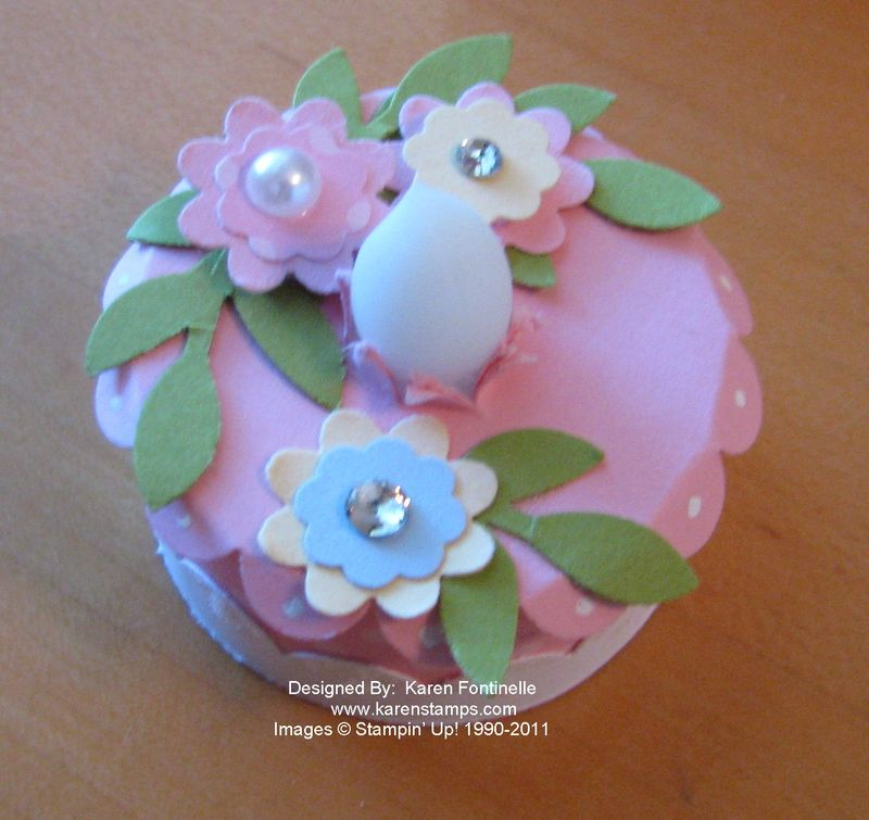Tea Light Birthday Cake And Gift Box
