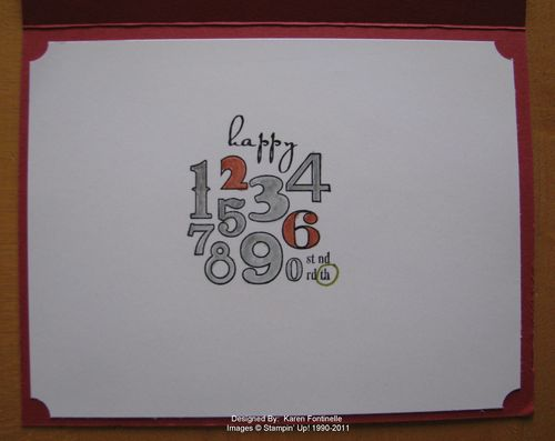 Male Birthday Card Inside