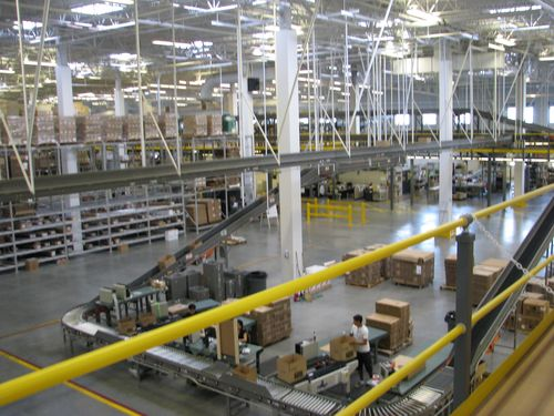 Stampin' Up! Distribution Center Aug. 2009