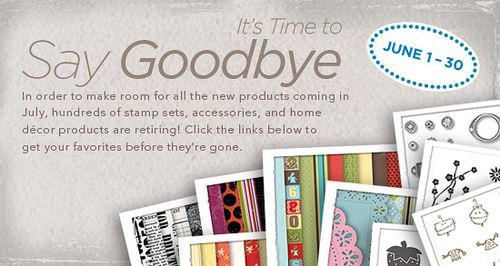 Retiring Stampin' Up! Products 2011