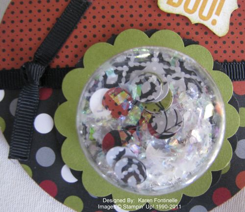 Halloween Ornament Treat Cup