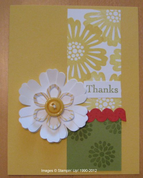 Daffodil Delight Thanks Card for Ronald McDonald House Charities