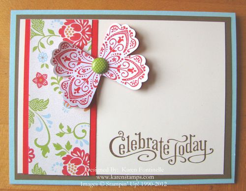 Sale-A-Bration Everyday Enchantment Celebrate Card