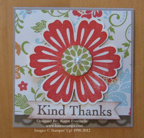 Everyday Enchantment 3x3 Thank You Card