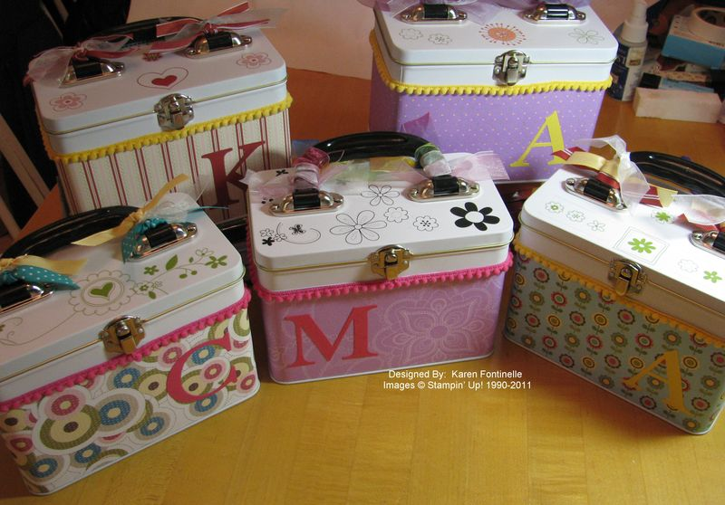 Lunchbox Tins Gifts