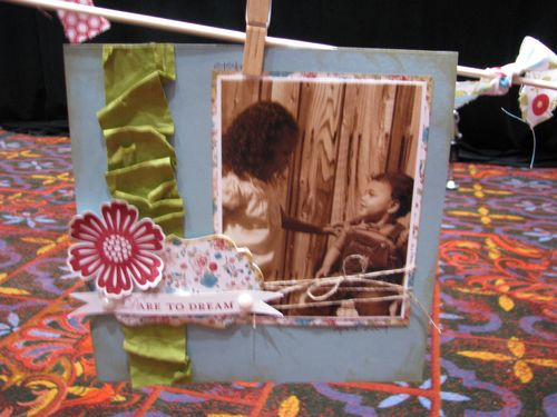 Occasions Mini Scrapbook Page