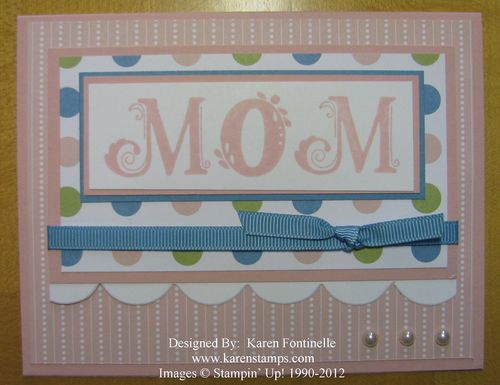 Mother's Day Nursery Nest Card for Mom