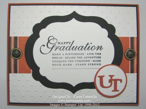 Graduation Framelit Card