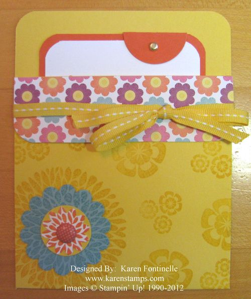 Betsy's Blossoms Pocket Card
