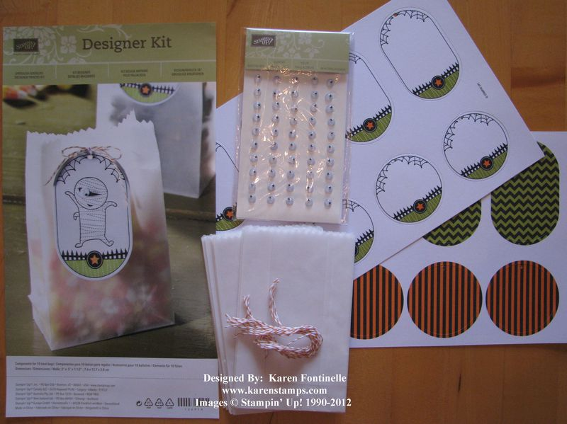 Stampin' Up! Ghoulish Googlies Designer Kit