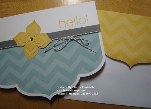 Sale-A-Bration Simply Sent Card Kit