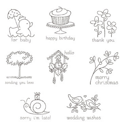 Easy Events Stamp Set