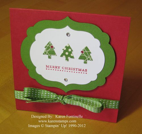 Merry Minis Teeny Tiny Wishes Christmas Card