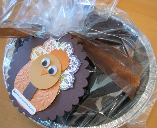 Turkey Tag Whoopie Pies Presentation