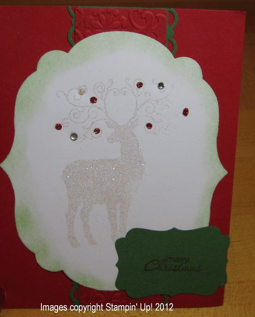 Ann's Stampin' Up! Christmas Card