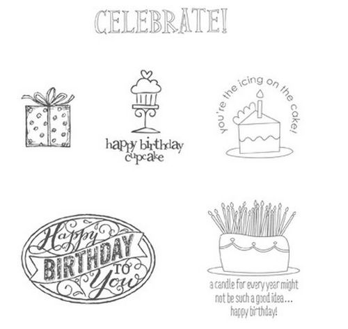 Best of 25 Years January Birthday Stamps
