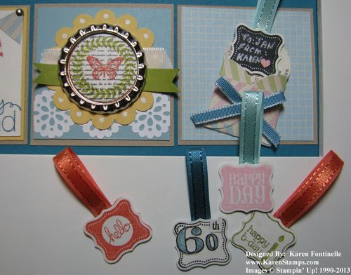 Framed Birthday Collage Tags
