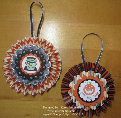 Halloween Medallion Decorations