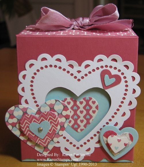 Valentine Fancy Favor Box