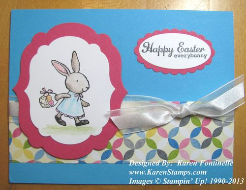 Everybunny Easter Card
